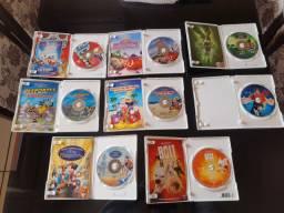Lote de DVDs Infantis