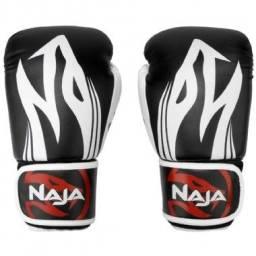 Luva de boxe/kickboxing/muay thai seminova Naja Extreme