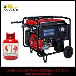 Conversão de gerador a gasolina para gás de cozinha