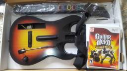Kit Guitarra + Bateria Nintendo Wii - Original