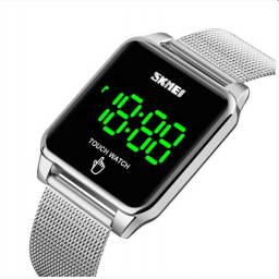 Relógio Unissex Skmei Digital - Prata