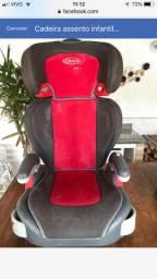 Cadeira assento infantil Graco - 15-36kg