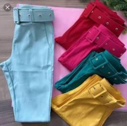 Calça bengaline lilás