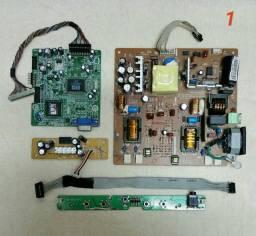 Placas do Monitor AOC LM722