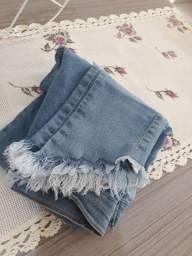 Calça Jeans - Tamanho 36, veste tamanho 34