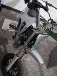 Mini moto 50cc motor dois tempos