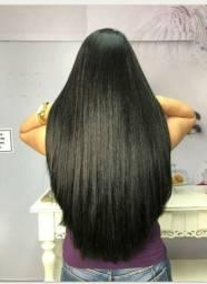 Mega hair técnica nano telas
