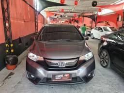 Honda Fit 2015 EX Automático 1 mil de entrada Aércio Veículos tdx