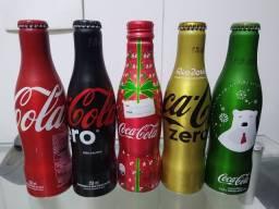Garrafas de Coca Edição Especial