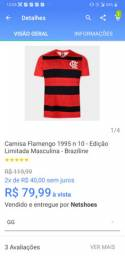 Camisa de todos o times esra do flamengo so 79.90