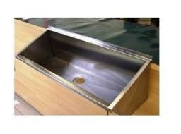 Lavatório em aço inox R$550,00