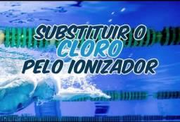 Ionizador p piscina ! Tratamento sem cloro !