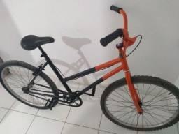 Oportunidade! Bicicleta aro 26 quadro feminino de 240 por 180 reais