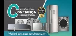 Assistência técnica , geladeira frezer máquina de lavar . Carga de gás só R$120.0