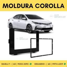 Moldura Toyota Corolla 2018> Black Piano 2din 89 / Z9 Moudura Corola Modura