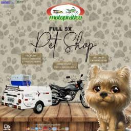 Carretinha para moto modelo Full SX Pet Shop