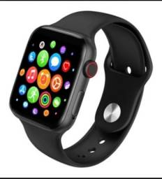 Vendo Relógio Smartwatch série 5 Bluetooth com 2 pulseiras
