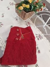 Calça vermelha - Tamanho P