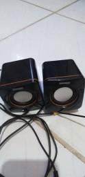 Caixa de som para computador e celular