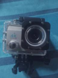 Câmera Action 4k Sport Go Cam Pro Ultra Hd + Acessorios