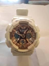 SÓ 380,00 G-schock GA-110GB Lindo relógio branco fundo rose - esqueleto -