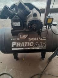 Compressor e serra de bancada