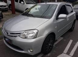 Etios xls 1.5, flex, completo, air bag, abs