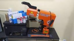 Kit sublimação laser  faster 360 mais impressora laser papéis e suplementos