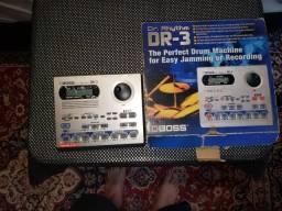 Bateria Eletrônica Boss Dr-3 Drum Machine (roland) (Estudo Trocas)