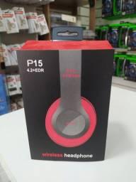 Headphone Wireless Sem fio (Bluetooth)