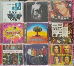 CD's Originais (R$ 20 cada)
