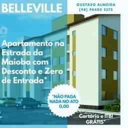 [67]More no Belleville/ Zero Reais no Ato / Ap com Varanda