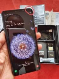 Samsung S9 Plus 128gb Completo + NF ( Aceito cartão)