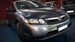 Honda Civic LX 1.8 2007 automático em raríssimo estado de conservação