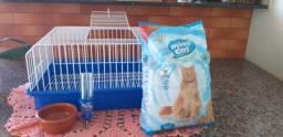 Vendo gaiola para porquinho da india, coelho é hamster!