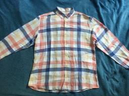 Camisa Xadrez Rockstter Tamanho G
