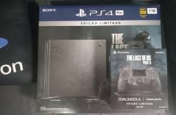 PS4 Pro The last Of Us Lacrado mais Controle extra Edição especial Lacrado