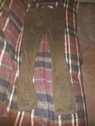 Calça jeans marrom número 38