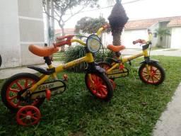 Vendo Duas Bicicletas Caloi Aro 12