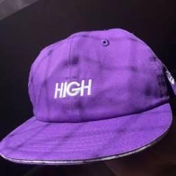Boné High Company x New Era 19Twenty - Sandwich Purple