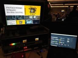 Transmissão ao vivo/Streaming/live profissional