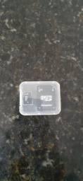 Cartão micro Sd de 2gb + Adaptador para pc