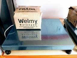 Balança Welmy 300 Kg. Nova na Caixa / Autorizada Inmetro