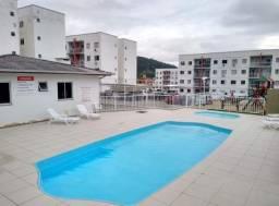 Apartamento dois dormitórios em condomínio completo | São Sebastião, Palhoça