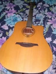 Vende violão elétrico marca LEG $1.200.00