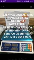 40kg BALANÇA DIGITAL NA CAIXA GARANTIA SERVIÇO DOMICÍLIO