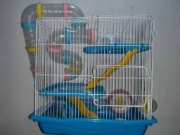 Gaiola de hamster + gaiola de transporte