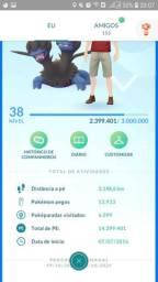 Conta pokemon go