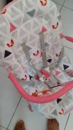 Cadeira De Descanso Para Bebês 0-15 Kg Rosa Weego