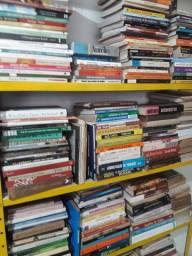 Lote de livros variados